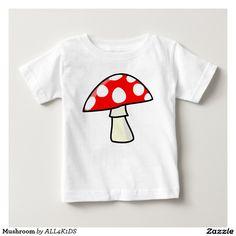 Mushroom Baby T-Shirt kids
