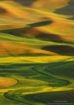 Light & shadow play by Javier Acosta, via Steptoe Butte State Park, Palouse hills, Washington. Aerial Photography, Nature Photography, Travel Photography, Shadow Play, Abstract Nature, Ciel, Amazing Nature, Beautiful Landscapes, Wonders Of The World