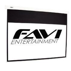 #2: FAVI HD-100 16:9/100-Inch Electric Projector Screen.