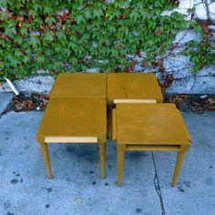 Los Angeles: Mid Century Modular Linked Coffee Table by John Keal for Brown Saltman $450 - http://furnishlyst.com/listings/1132551