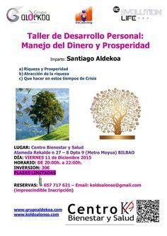 MANEJO DEL DINERO Y LA PROSPERIDAD con Santiago Aldekoa