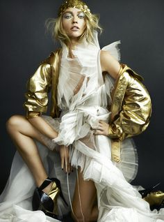 visual optimism; fashion editorials, shows, campaigns & more!: get inspired : golden envy for julep! #fashion #photography