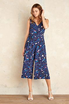 Chantal Floral Culotte Jumpsuit, Blue. This jumpsuit is can easily be  dressed up… c3797ac72eef