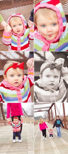 Baby Girl 1 Year Photo Session - Deanne Mroz Photography