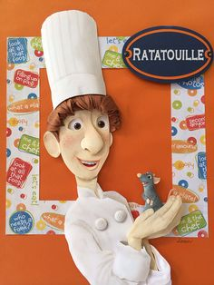 Ratatouille Paper Sculpture on Behance