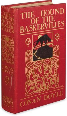 DOYLE, ARTHUR CONAN. Hound of the Baskervilles. Lot 90