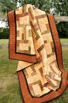 Love of Rectangles - jelly roll quilt
