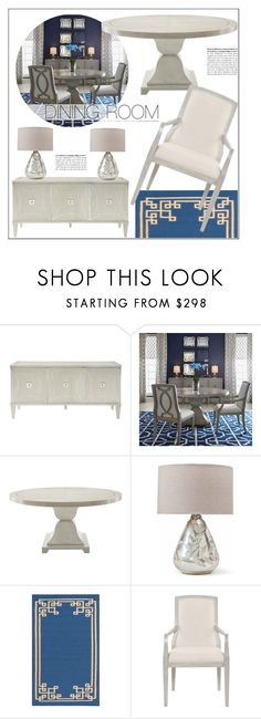 """""""Dining Room Decor"""" by kathykuohome ❤ liked on Polyvore featuring interior, interiors, interior design, home, home decor, interior decorating, dining room, diningroom, Home and homedecor"""