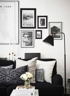 on the cover | Bringing black into your home