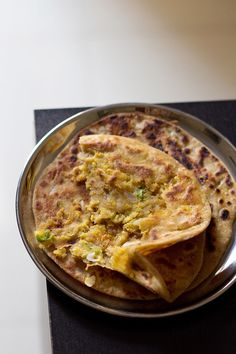 chana dal paratha recipe with step by step photos. chana dal ka paratha is a whole wheat flatbread stuffed with a spiced chana dal or bengal gram mixture. Veg Recipes, Indian Food Recipes, Asian Recipes, Vegetarian Recipes, Cooking Recipes, Healthy Recipes, Appetiser Recipes, Flour Recipes, Healthy Breakfasts