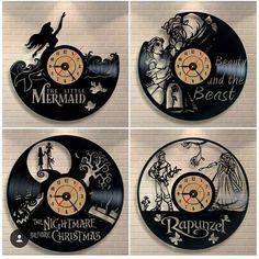 Disney clocks!!! ❤️❤️❤️