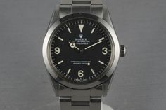 Rolex Explorer ref 1016, maybe the best sports watch ever