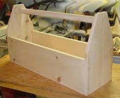 Image result for wood tool box