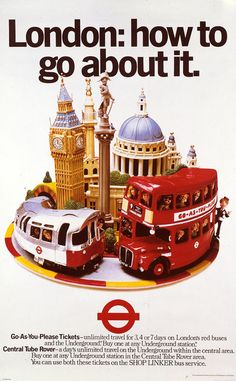 London: how to go about it, by Ray Campbell and Robin Bouttell, 1979