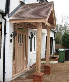 Reclaimed Clay Tiles And Lead Flashing Applied Porch