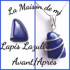 Pendentif Lapis Lazuli et Argent 925. Bijou Lapis lazuli, pendentif pierre naturelle. Je suis une créatrice de bijoux en pierres naturelles et Argent. Découvrez mes bijoux faits mains. Retrouvez cet article dans ma boutique Etsy http://etsy.me/2Eo7Ih2