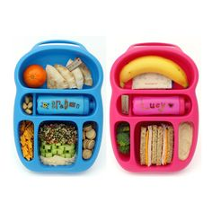 Cute and Clever The Goodbyn Lunch Box The Kitchn ($26) ❤ liked on Polyvore featuring food, fillers and food and drink