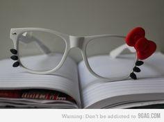 Hello kitty glasses