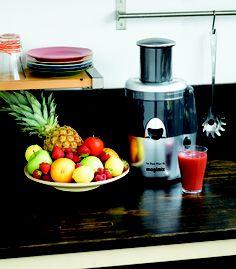 Entsafter - aus Früchten und Gemüse kleine Saftdelikatessen zaubern.