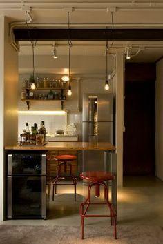 Vitor Penha - industrial chic rústico rustic reuso de design iluminação lightning cozinha kitchen