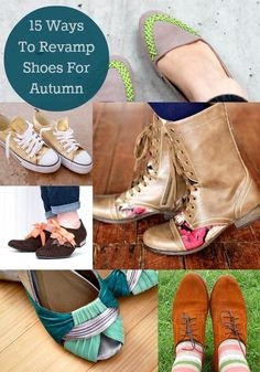 15 Ways to Customize Your Own Shoes for Fall