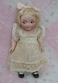 Impish Little Antique Kestner Googly Doll Dolls And Lace.com
