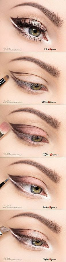 Step make-up for bright eyes thePO.- Step Make-up für helle Augen thePO.ST… Step make-up for bright eyes thePO. Light Eye Makeup, Smokey Eye Makeup, Skin Makeup, Eyeshadow Makeup, Bright Makeup, Eyeshadow Ideas, Beauty Makeup, Eyeliner Make-up, No Make Up Make Up Look