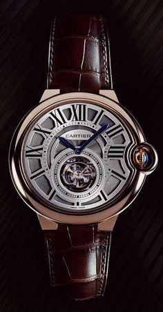 Cartier Ballon Bleu Tourbillon Volant #Watches #Time #Reloj