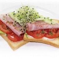 Toast gezond | Lunch | Power Slim Nederland