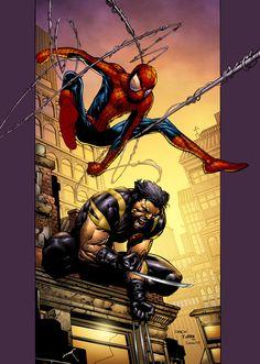 Ultimate X-Men by *SeanE on deviantART ( #SpiderMan #Wolverine )