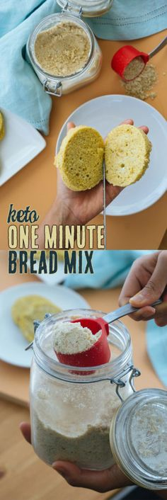 This keto mug bread will satisfy your cravings for bread and keep you on track with its low carb macros! This keto mug bread will satisfy your cravings for bread and keep you on track with its low carb macros! Keto Mug Bread, Easy Keto Bread Recipe, Keto Banana Bread, Best Keto Bread, Banana Bread Recipes, Blueberry Bread, Keto Pancakes, 90 Sec Keto Bread, Yeast Bread