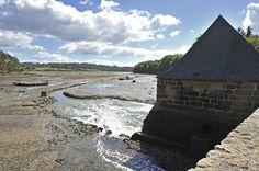 Moulin à marée du Hénan,  sur l'Aven Finistere   Brittany
