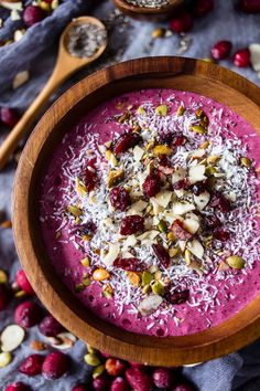 Cranberry Smoothie Bowl