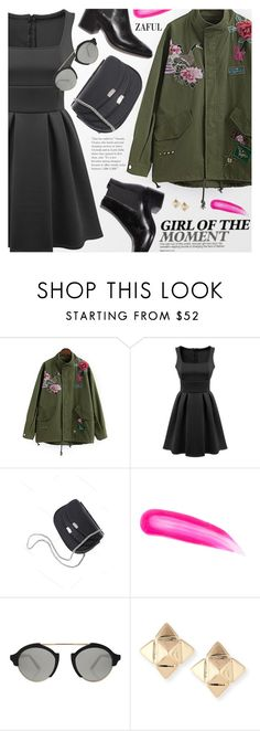 """""""Street Style"""" by pokadoll ❤ liked on Polyvore featuring Tom Ford, Illesteva, Valentino, polyvoreeditorial, polyvorefashion, polyvoreset and zaful"""