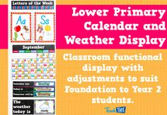 Clever Cats - Foundation Calendar & Weather Display