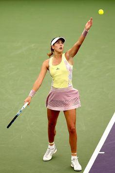 Garbine Muguruza (Credit WTA)