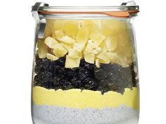 Blue Cornbread With Pineapple in a Jar #FNMag #HolidayCentral