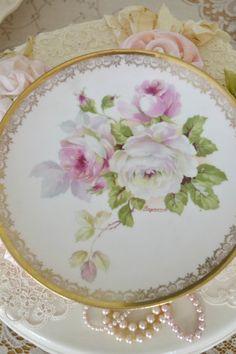 Gorgeous Antique Royal Austria Hand Painted Plate by Jenneliserose