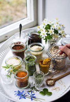 Tips på ingredienser från skafferiet till hemmagjorda hudvårdsprodukter - © Evelinas Ekologiska