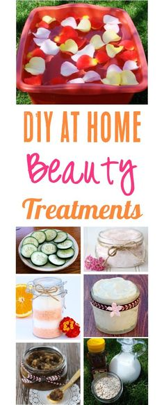 DIY Beauty Products!  Easy, Natural Homemade beauty treatments and recipes to pamper yourself and your skin all while at home! | TheFrugalGirls.com