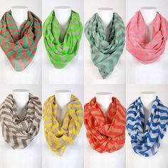 Get yourself something special - you deserve it!!! Order one of our Colorblock Chevron Scarves!