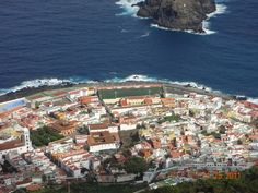 One of the spectacular villages on Tenerife, Canary Islands