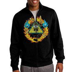 Jacob Mens Sweatshirt Gravity Falls Disney Animated Film Fullzip Hoodie Jacket S Black * You can find more details by visiting the image link.(This is an Amazon affiliate link and I receive a commission for the sales)
