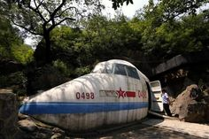 Slideshow: Former China Military leader's cave bunker turned into a unique bar!