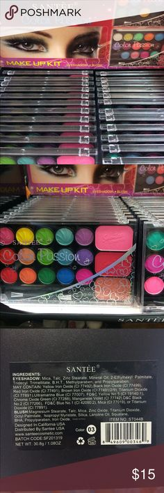 Santèe Color Passion Make Up Kit Brand new Santèe Makeup