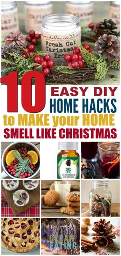 DIY Christmas Scents - 10 Easy Ways to Make your Home Smell Like Christmas - Clean Eating with kids Christmas Crafts For Kids To Make, Christmas Projects, All Things Christmas, Christmas Fun, Christmas Recipes, Christmas Activities, Christmas Traditions, Christmas Decorations, Potpourri Recipes