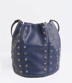 5cc5c0eba Bolsa Saco com Tachas de Estrelas - Lojas Renner