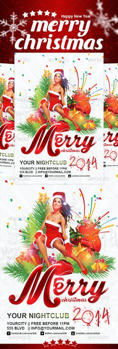 Santa Coming Christmas Poster Christmas poster, Christmas flyer - christmas poster template