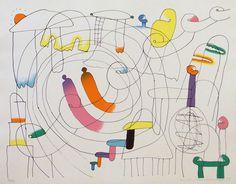 Vincent Van Gogh – Buy Abstract Art Right Abstract Drawings, Abstract Shapes, Misaki Kawai, Graphic Design Illustration, Illustration Art, Bunny Drawing, You Draw, Origami Art, Japanese Artists