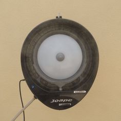 EcoJet by Joape Cassino Wall Mount Misting Fan For Outdoor Cooling Black - LVP-030103